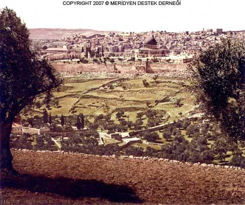 Вид с Оливковой горы на Иерусалим
